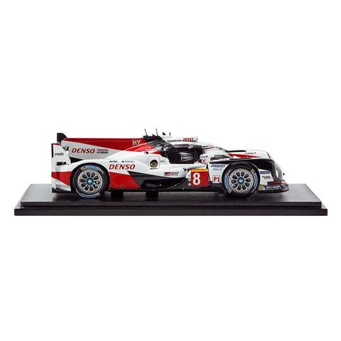 TOYOTA HYBRID TS050 #8 MODEL CAR 1:43