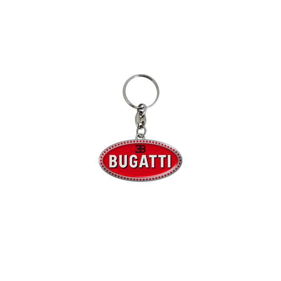Bugatti 2020 Collection Keyring Macron - Red