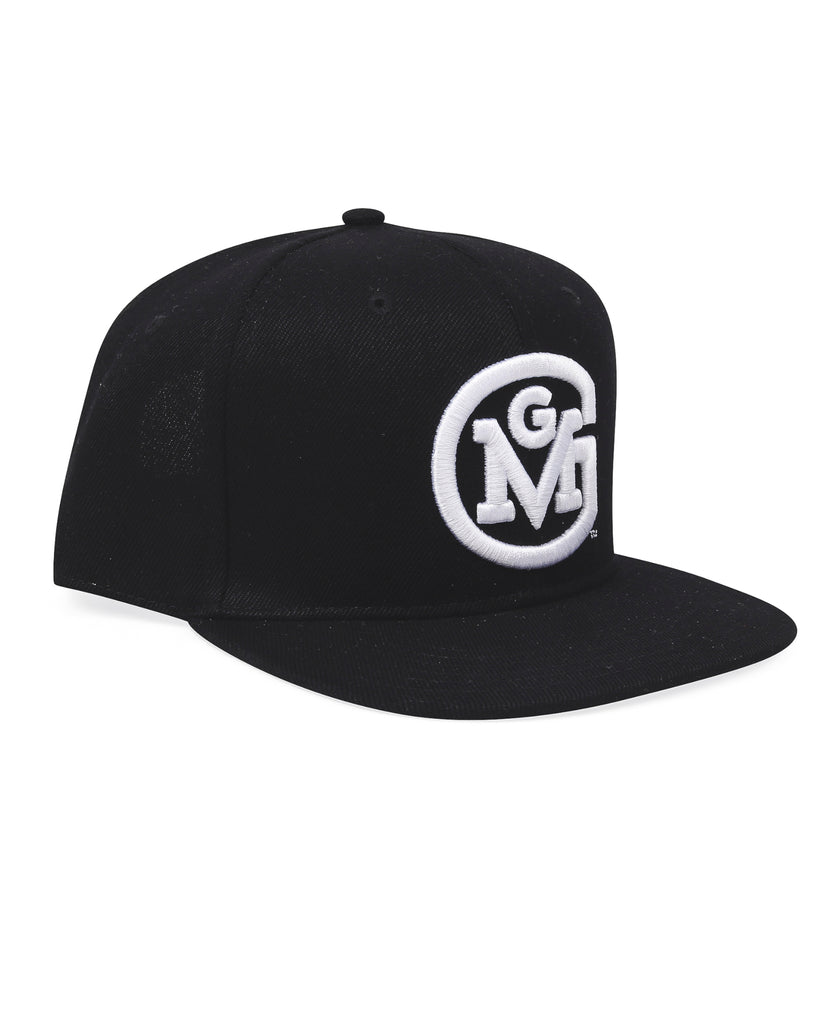 GMG 3D Initial Logo Snap-Back Cap Gas Monkey (Black)