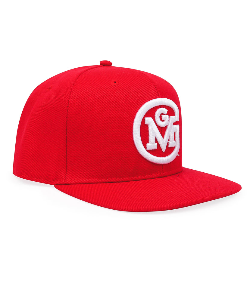 GMG 3D Initial Logo Snap-Back Cap Gas Monkey (Red)