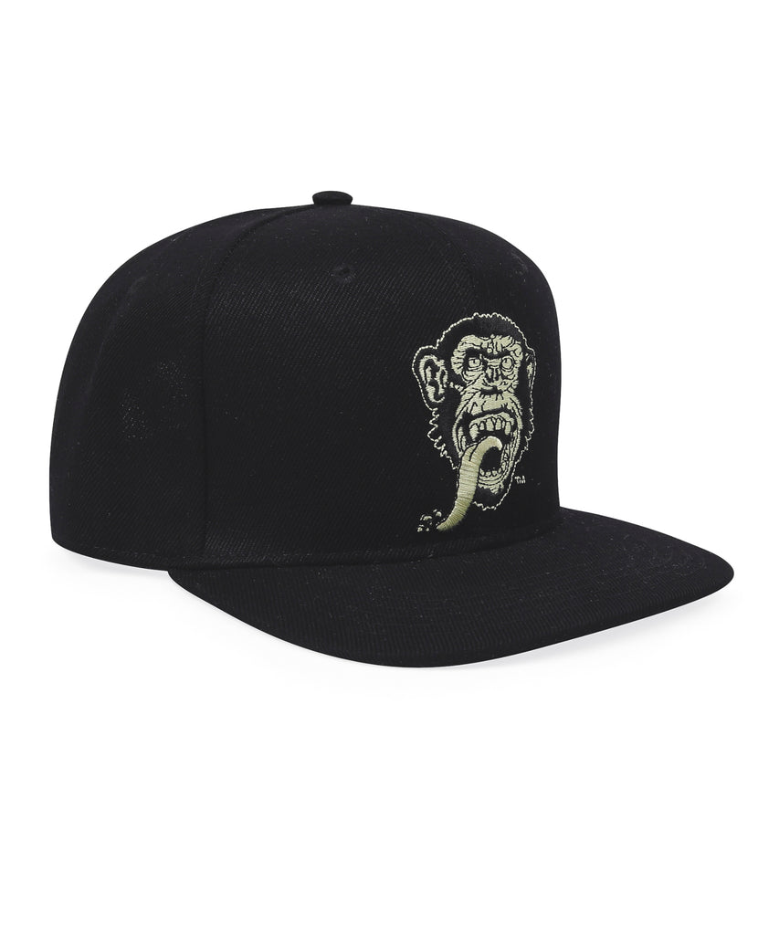 GMG Face On Snap-Back Cap Gas Monkey (Black)