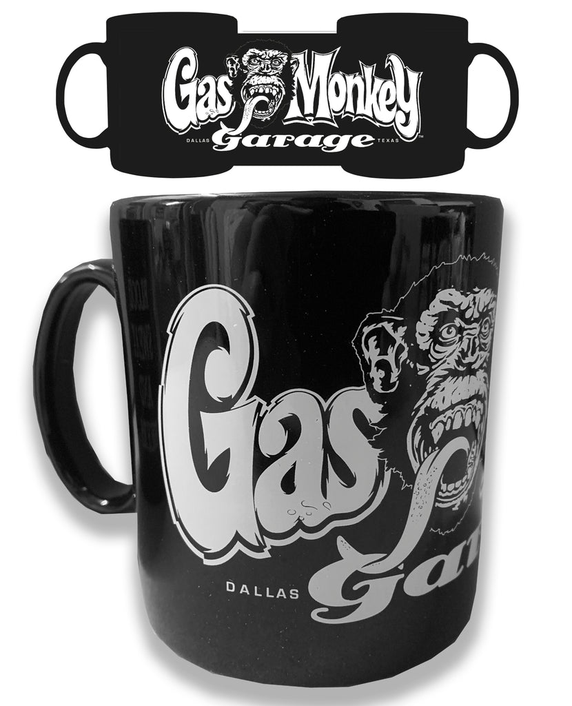 Gas Monkey Mug - Black
