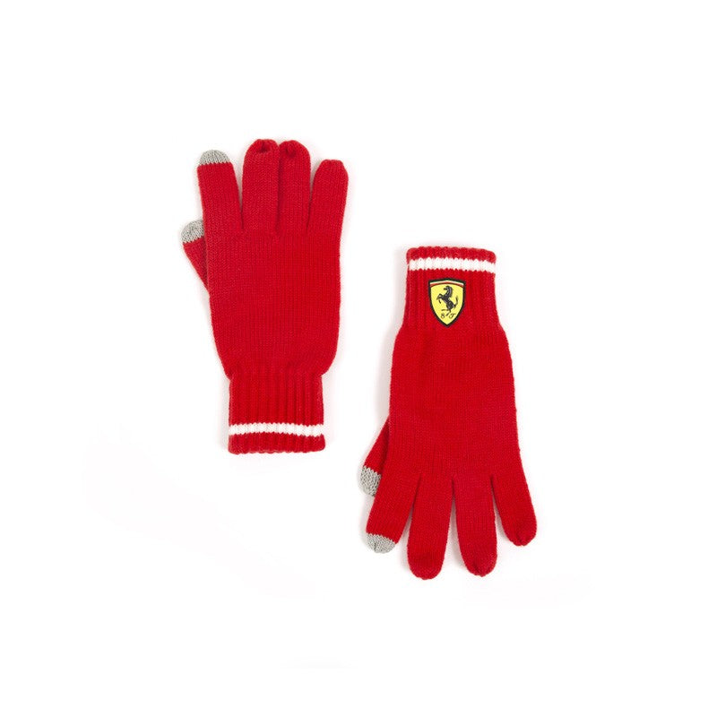 Knitted Gloves Red 2018 Scuderia Ferrari