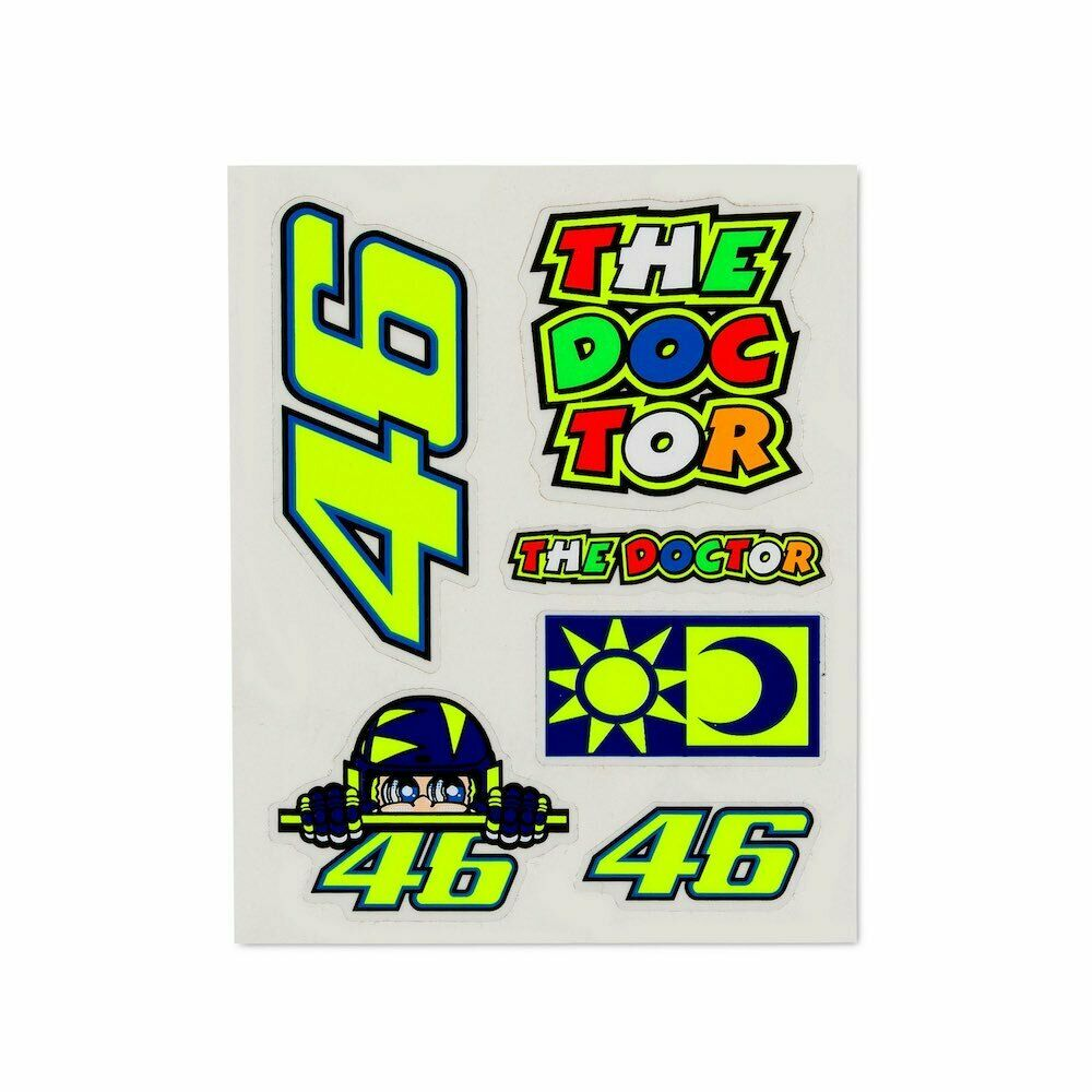 VR46 SMALL STICKERS SET