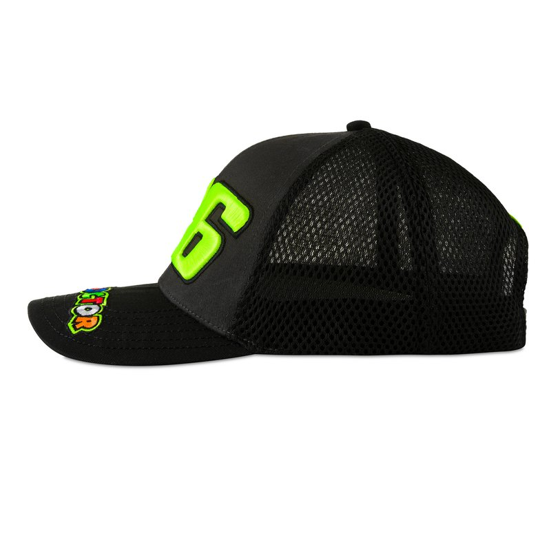 Valentino Rossi VR46 Classic Collection, Unisex, Multicoloured Cap