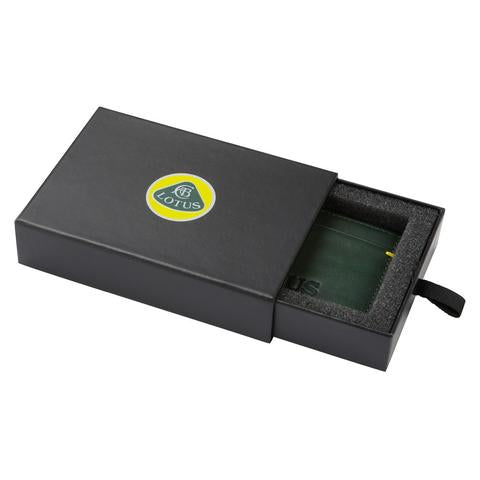 LOTUS CARS LEATHER CARD HOLDER