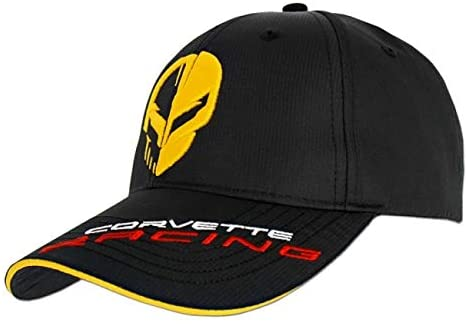 Corvette Racing Cap - Jake Official Black Adults OSFM