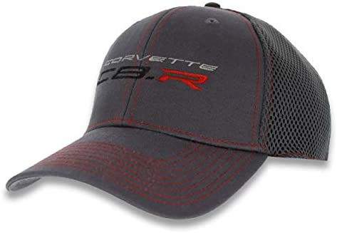 Corvette Racing Cap - C8 R New Era Flexi Fit L/XL