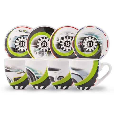 BENTLEY MOTORSPORTS ESPRESSO SET