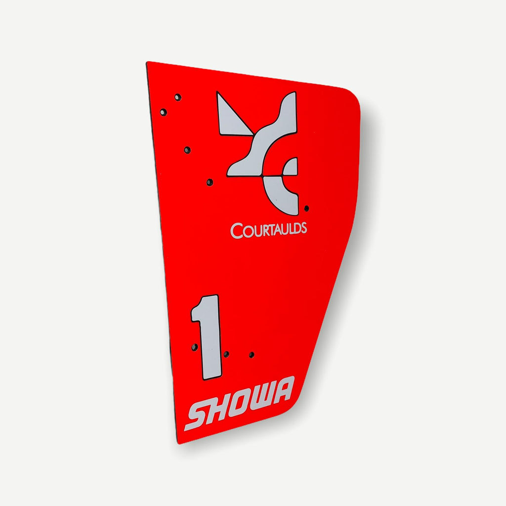 McLaren MP4/6 1991 Ayrton Senna 1:2 Scale End Plate