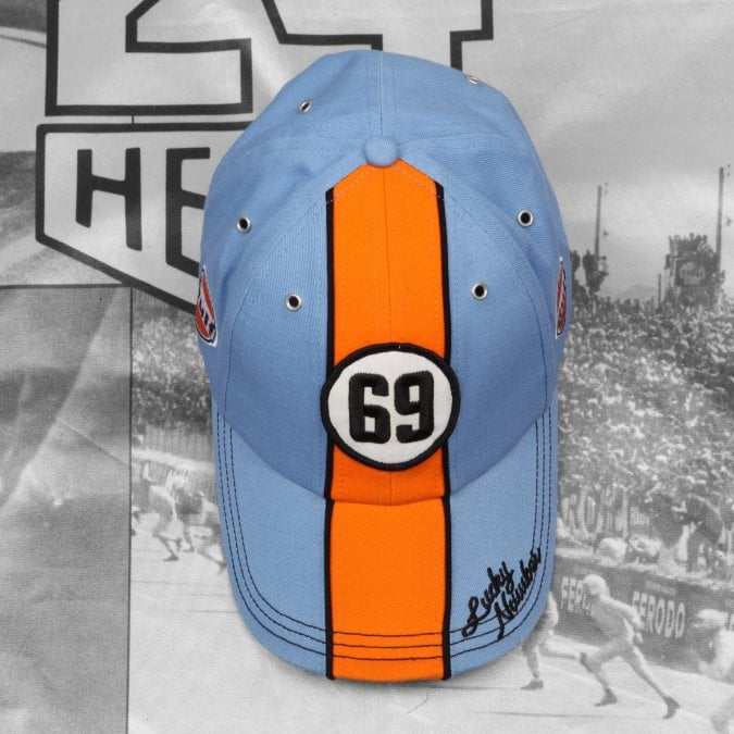 Gulf Grandprix Originals 69 Lucky Number Cap - Blue