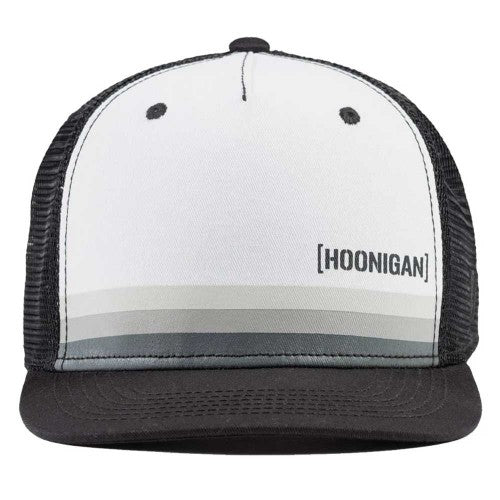HOONIGAN HORIZON BLACK/WHITE TRUCKER CAP