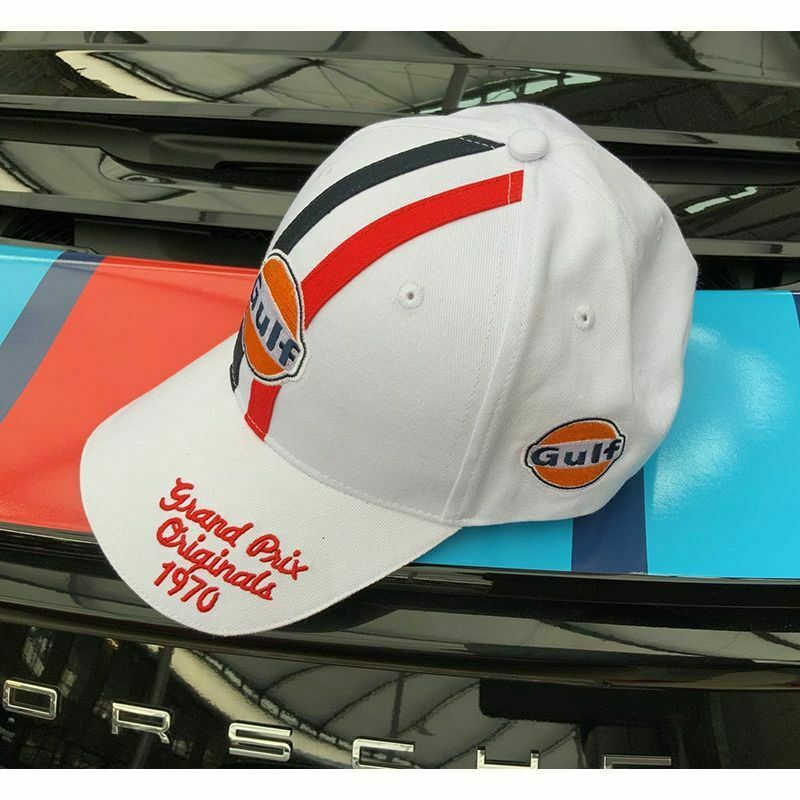 Gulf - Grandprix Originals 1970 Cap - White