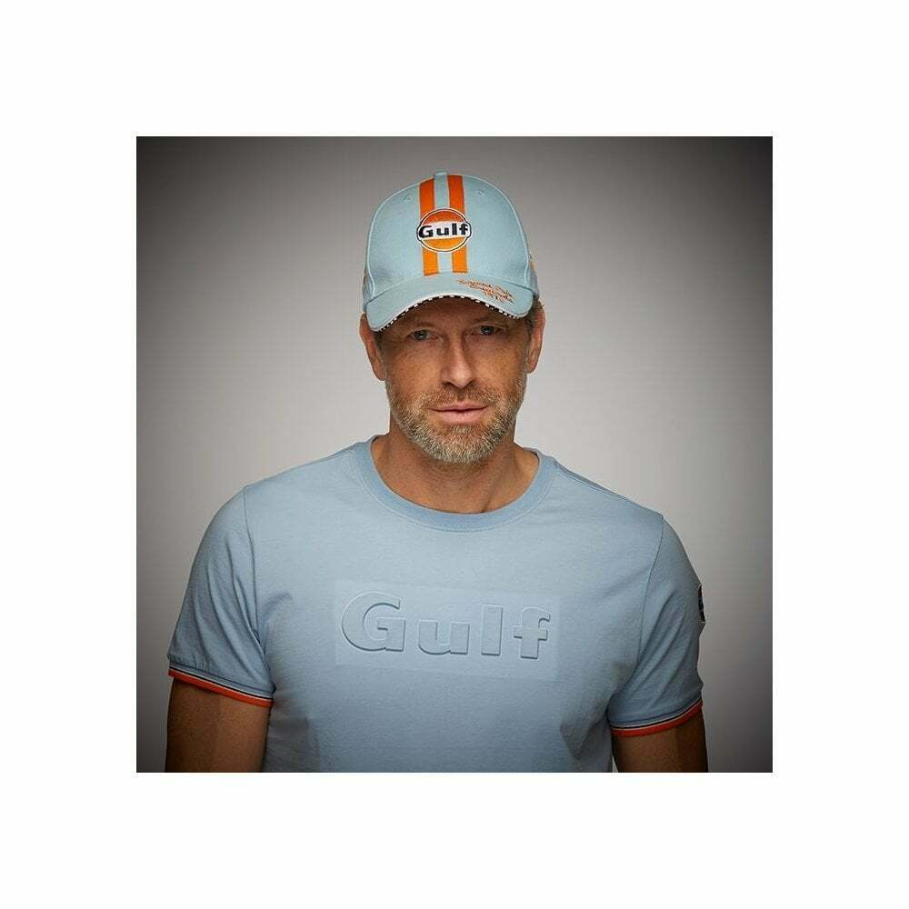 Gulf Grand Prix Originals 1970 Vintage Baseball Cap - Blue