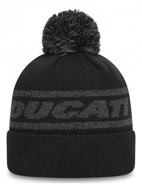 New Era Ducati Badge Knit Beanie - Black