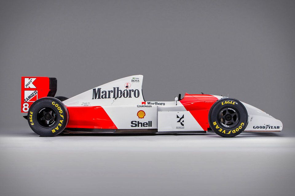 McLaren MP4/8 - 1993 Senna 1:2 Scale End Plate