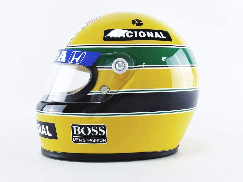 Ayrton Senna Collection - Mini F1 Helmet 1988 1:2