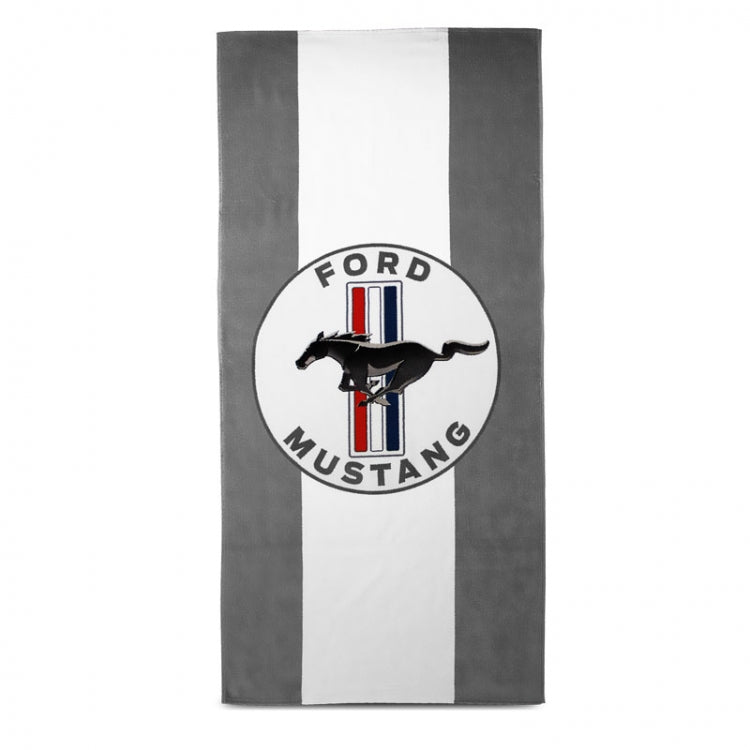 "Ford Mustang Towel ""Stripes"""