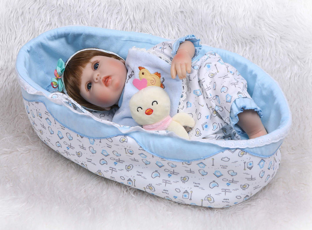 Minidiva Lifelike Reborn Baby Doll Amo with Pal - MiniDiva