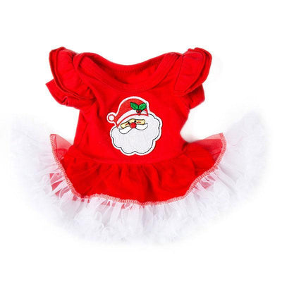 Minidiva Santa Claus Dress for Reborn Baby Dolls - MiniDiva