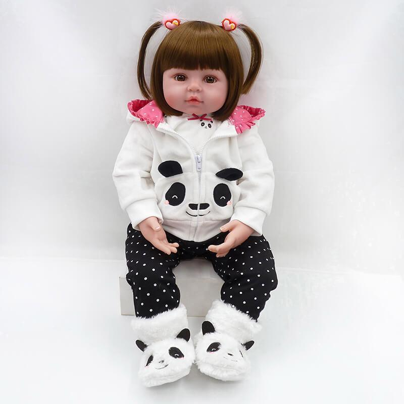 Minidiva Pretty Panda Baby Girl Faith with Endless Charm - MiniDiva