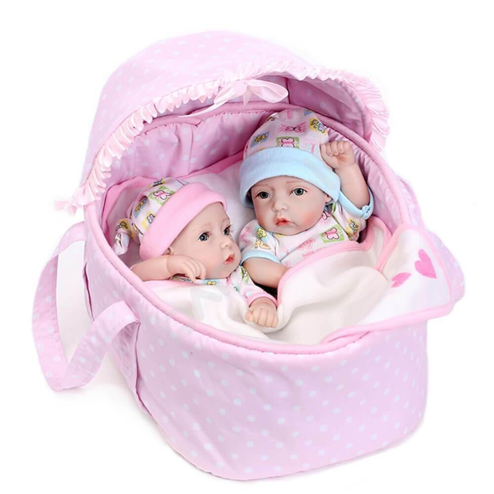 Minidiva Twin Babies -  Little Pink Girl - MiniDiva