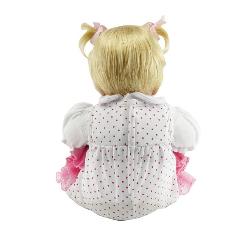 Minidiva Truly Little Ponytail Blonde Baby Girl Doll - MiniDiva