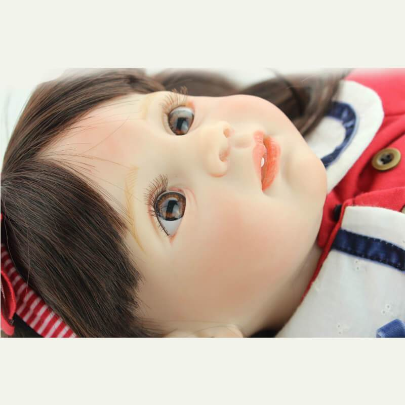 Minidiva Pretty Long Hair Girl Baby Doll Caven - MiniDiva
