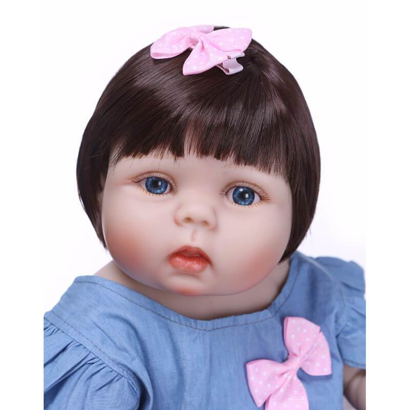 Minidiva Silicone Full Body Cute Girl Doll Byn with Pal - MiniDiva