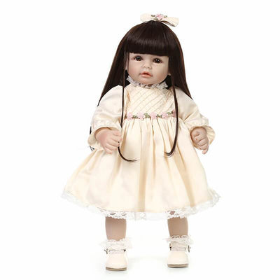 Minidiva Realistic Beautiful Long Hair Girl Doll Bety - MiniDiva