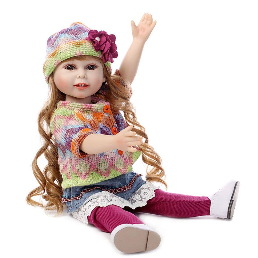Minidiva Lifelike Long Hair Silicone Girl Doll Kiki - MiniDiva