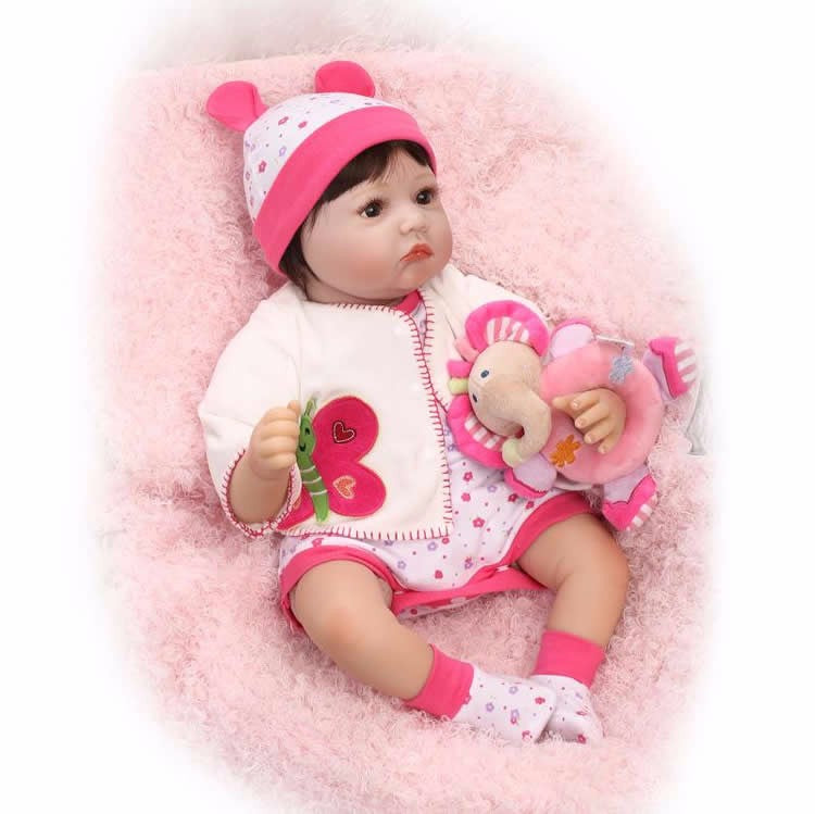 Minidiva Cute Realistic Doll Laredo with Elephant Doll - MiniDiva