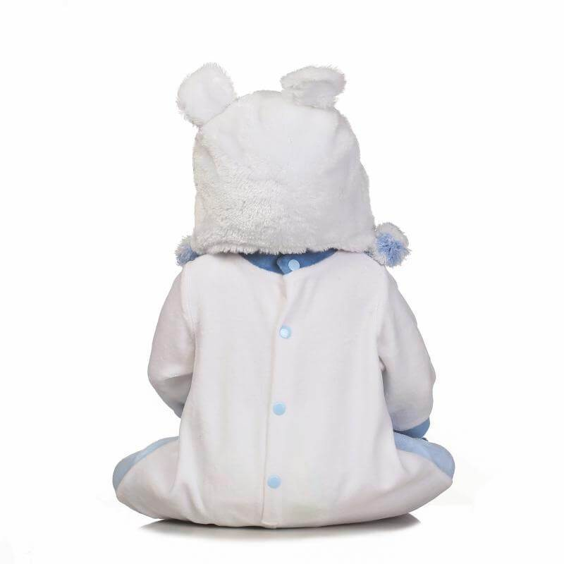 Minidiva Realistic Winter Bear Boy Doll - MiniDiva