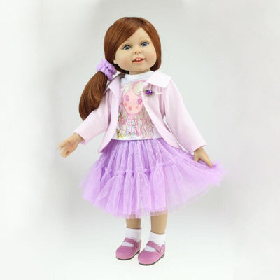 Minidiva 18 inch Reborn Girl Doll Evelyn - MiniDiva