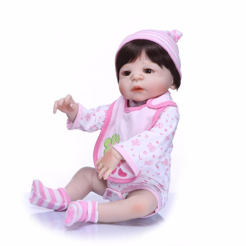 Minidiva Truly Pink Baby Girl Miya with Bear Doll - MiniDiva