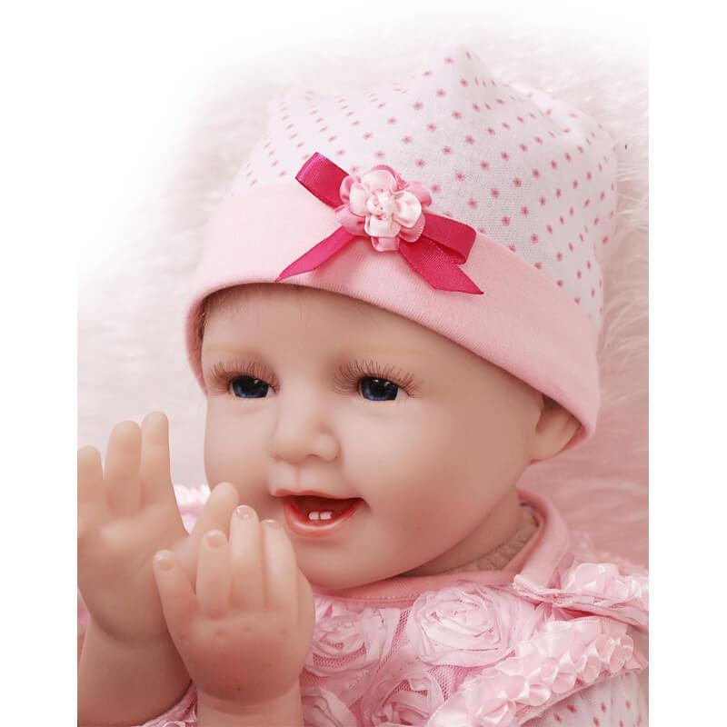 Minidiva Truly Smile Baby Girl Doll Quir - MiniDiva