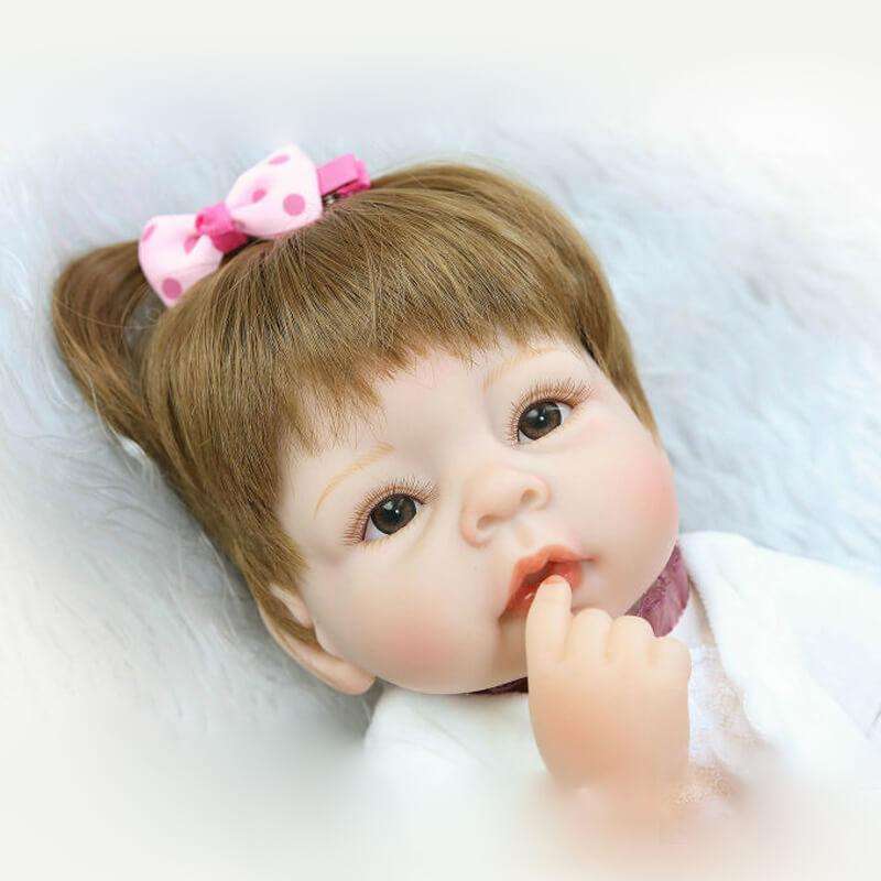 Minidiva Lifelike Lovely Baby Girl Doll Nora - MiniDiva