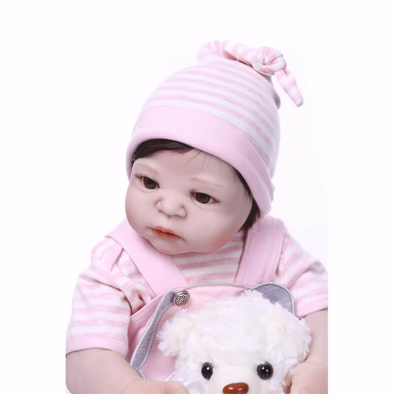 Minidiva Truly Lovely Baby Girl Mita with Bear Doll - MiniDiva
