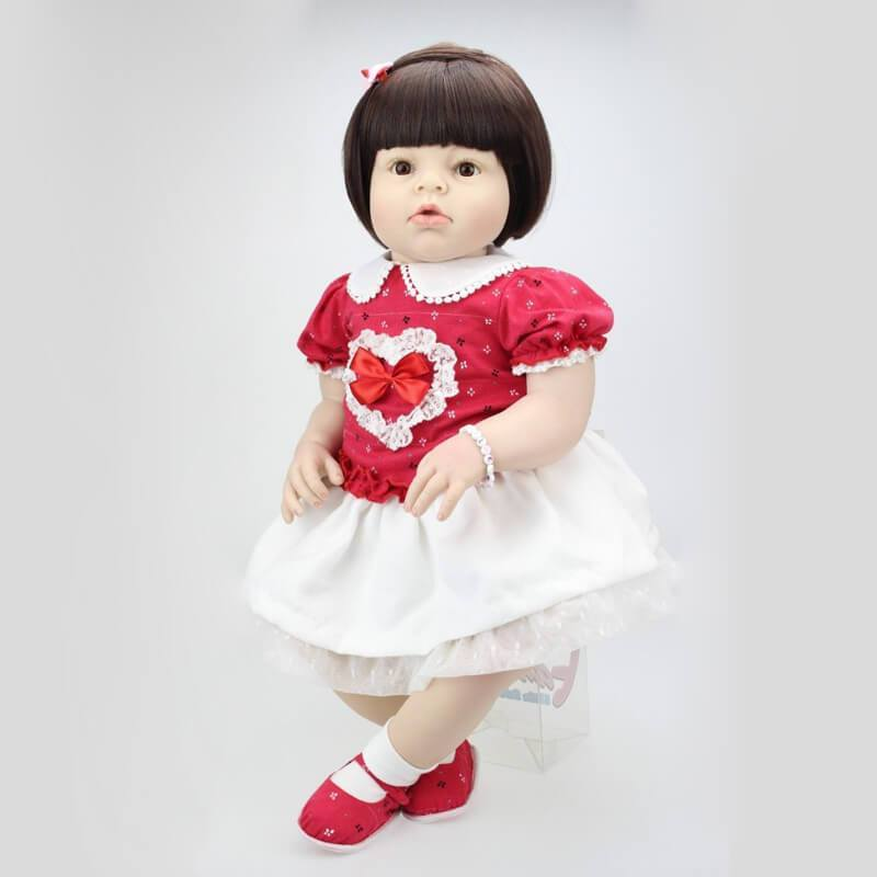 Minidiva Realistic Sweet Heart Girl Doll Nancy - MiniDiva