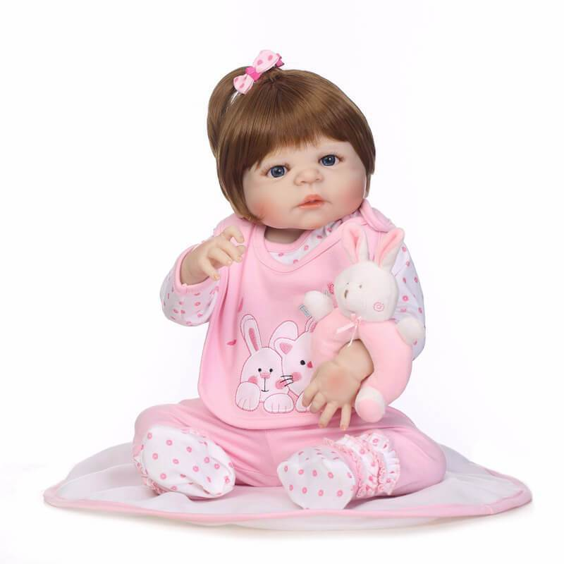 Minidiva Truly Baby Girl Vale with Rabbit Doll - MiniDiva
