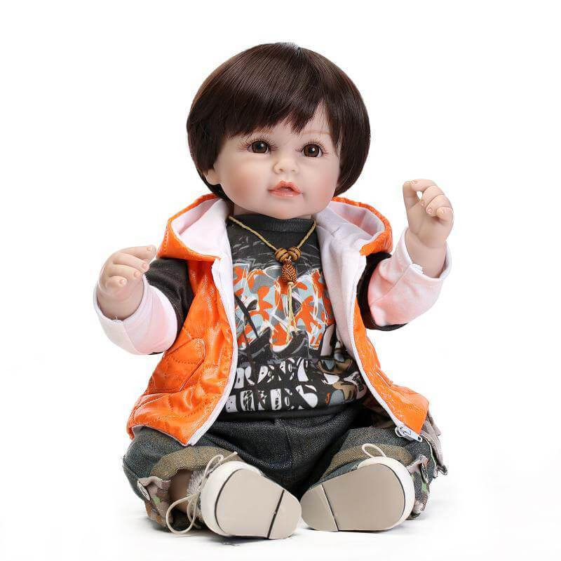 Minidiva Rock Star Boy Young Lifelike Baby Doll - MiniDiva