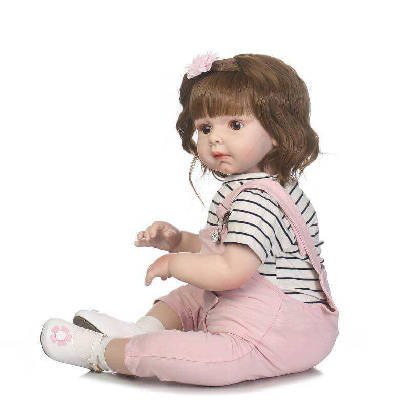 Minidiva Truly Girl Doll Sweetly Toddler with Plush Bear - MiniDiva