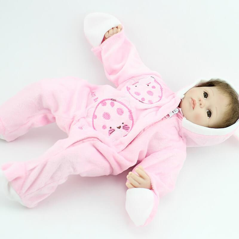 Minidiva Winter is Coming Lifelike Baby Girl doll - MiniDiva