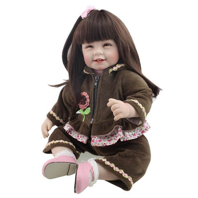 Minidiva Realistic Long Hair Girl Doll Mila - MiniDiva
