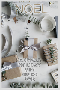 Handmade Holiday Gift Guide by Cindy Liebel Jewelry