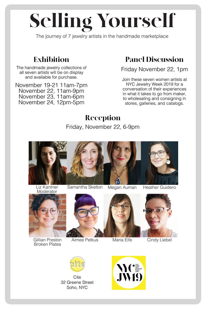 EVENTS | NYC Jewelry Week Exhibition & Market: Selling Yourself