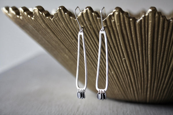 Handmade Silver Earrings by Cindy Liebel