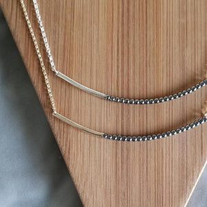 Long Bar Necklace by Cindy Liebel