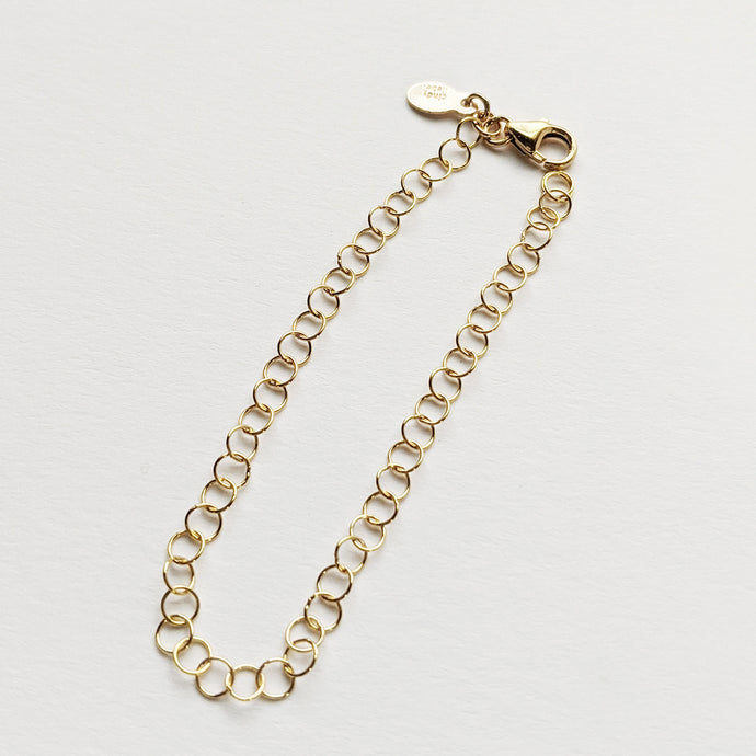 14K Gold Fill Trigger Lobster Clasp Chain Extender