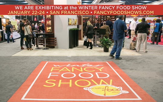 We'll See You At The 2017 Winter Fancy Food Show